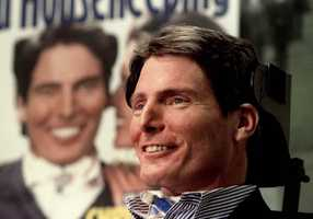 The most affecting person I ever interviewed was Christopher Reeve, the Superman actor who came to Vermont to speak after his devastating accident and you could hear a pin drop in the room. He was so positive under the circumstances even as he timed his words between breaths to answer questions. I'll never forget it.