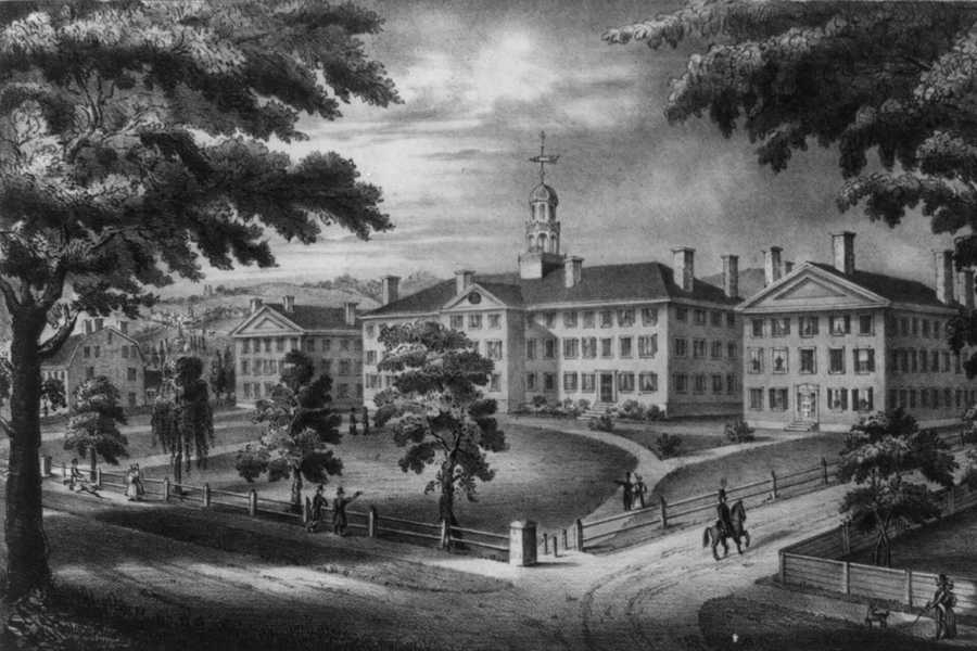 Dartmouth is one of nine colleges founded before the American Revolution.