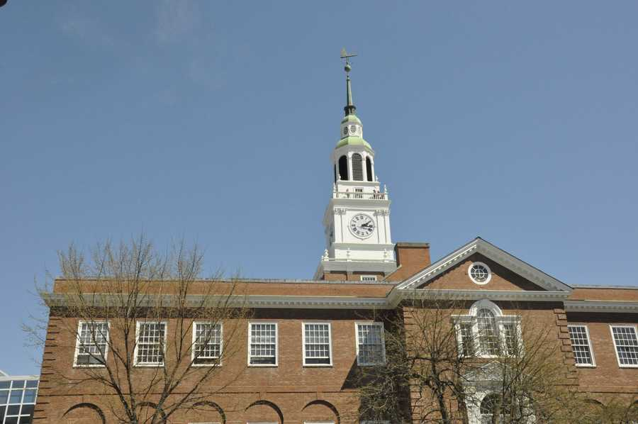 Dartmouth is host to the University Press of New England, which is used by multiple schools in New England.