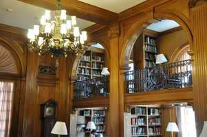 Dartmouth has nine libraries, with more than 2 million volumes between them, along with four million other resources.