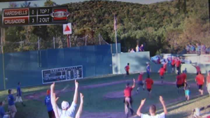 Unbelievable catch made at annual wiffle ball tournament - img
