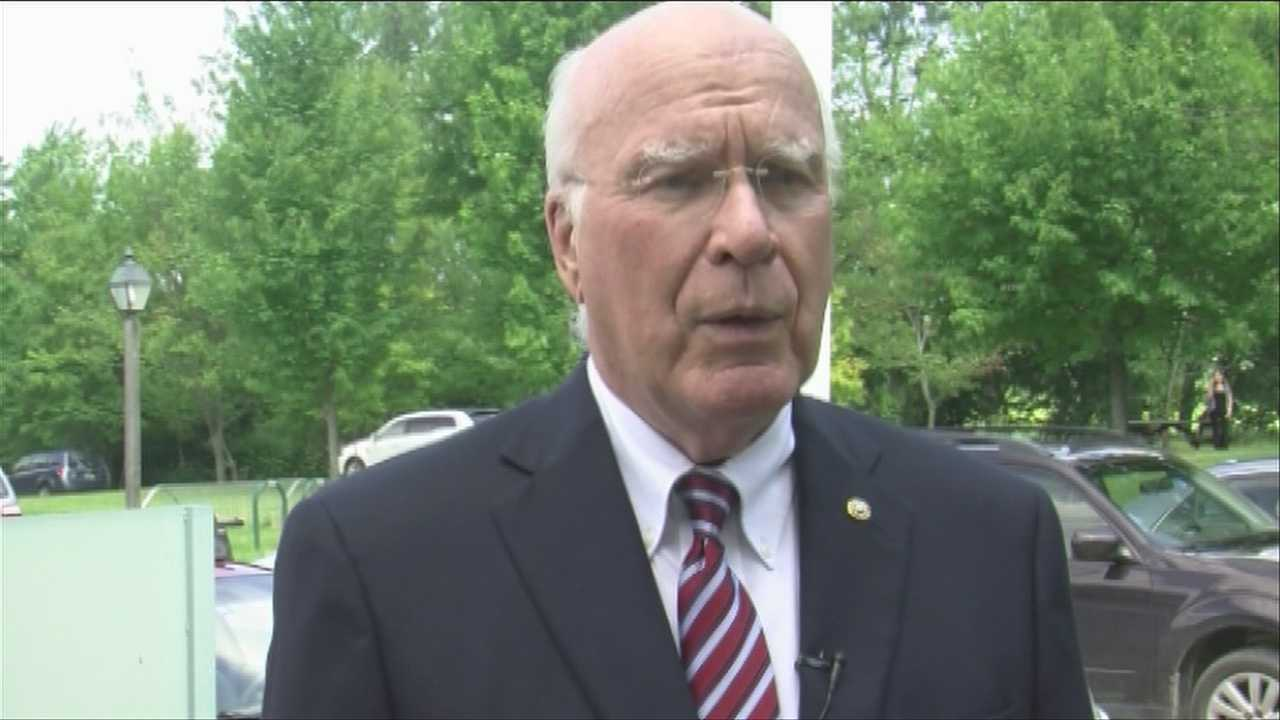 Leahy wants US to cut aid to Egypt