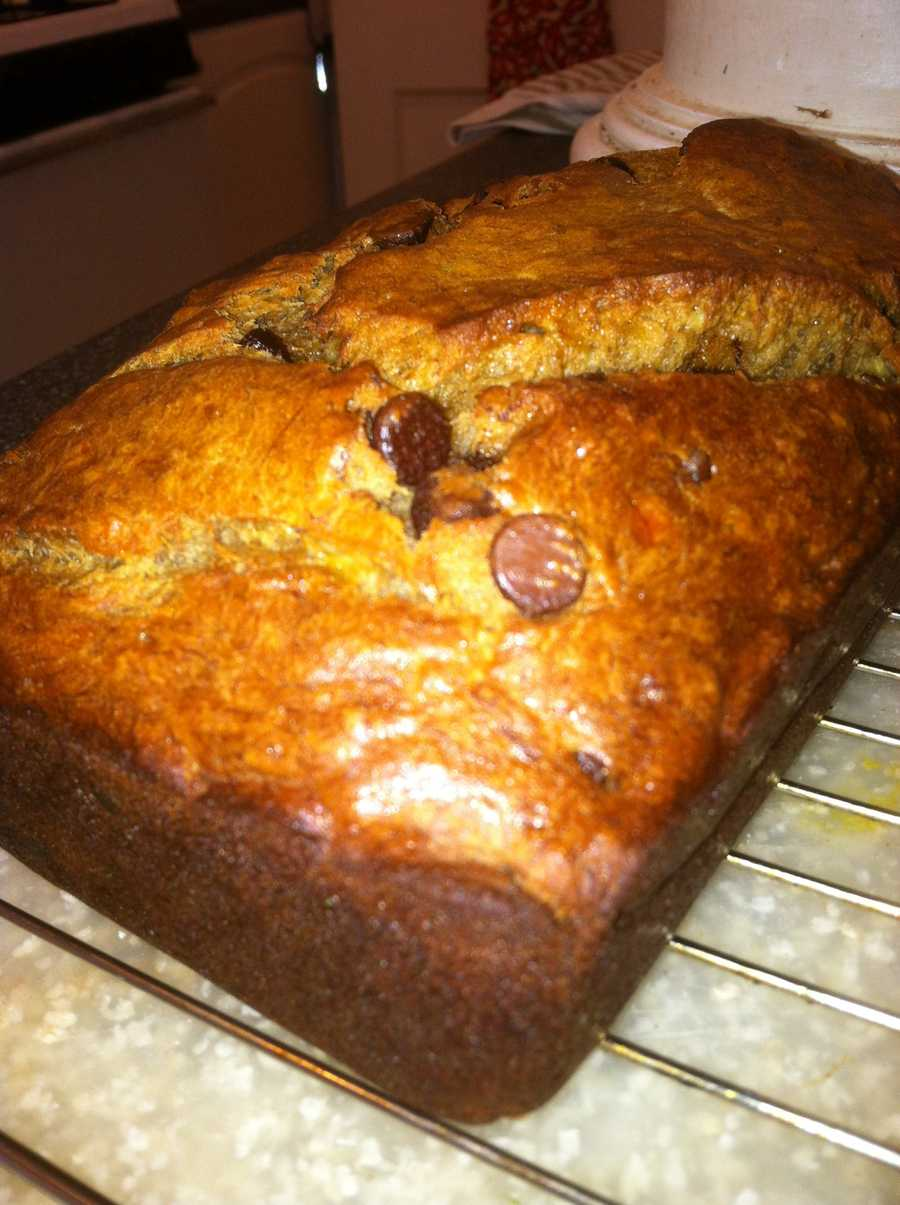 I also love to bake. Not to brag, I make a mean banana bread.