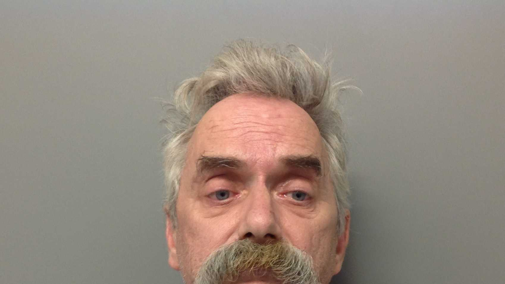 Ronald G. Charette is accused in a road rage incident in which ploce say he waved a loaded gun at another motorist.