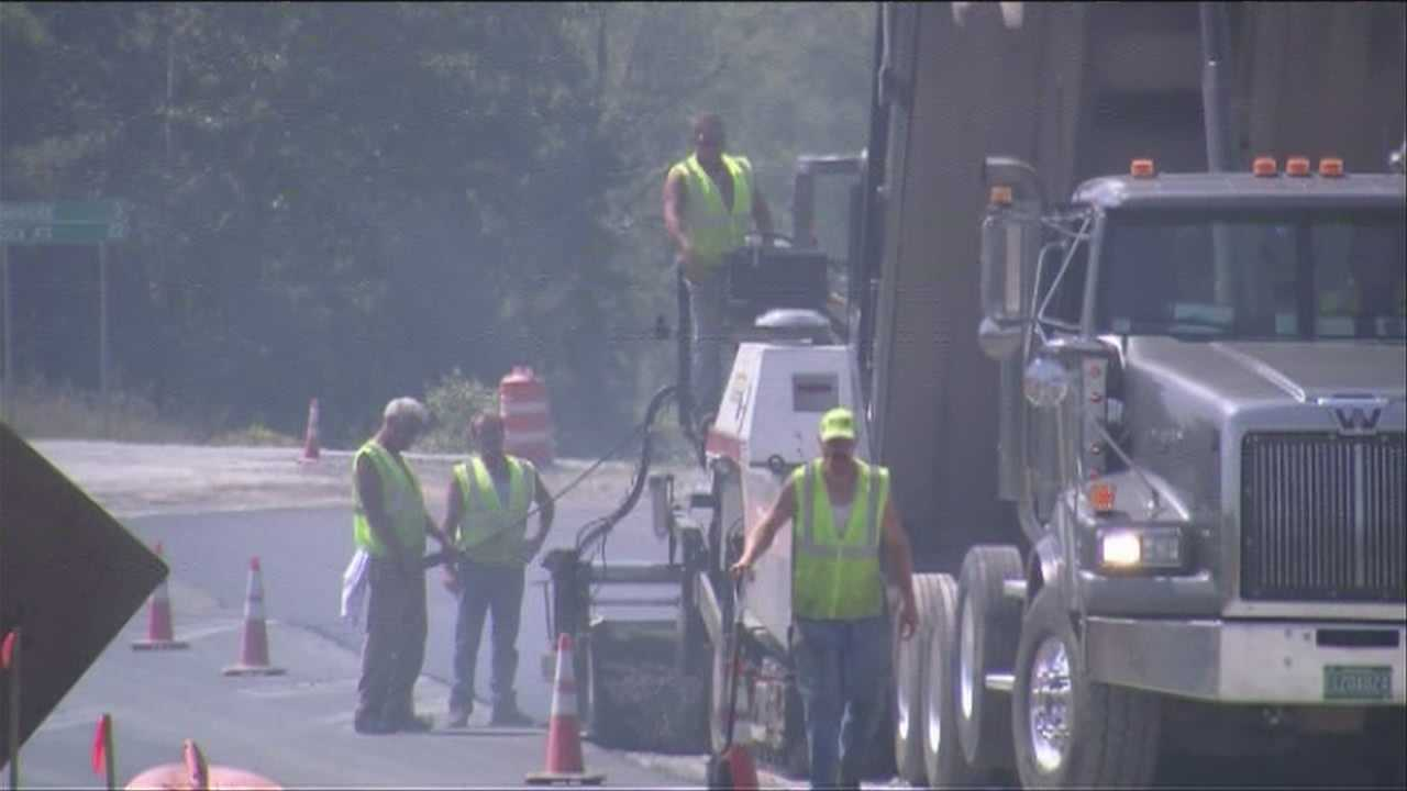 Traffic circle construction a headache for drivers, businesses