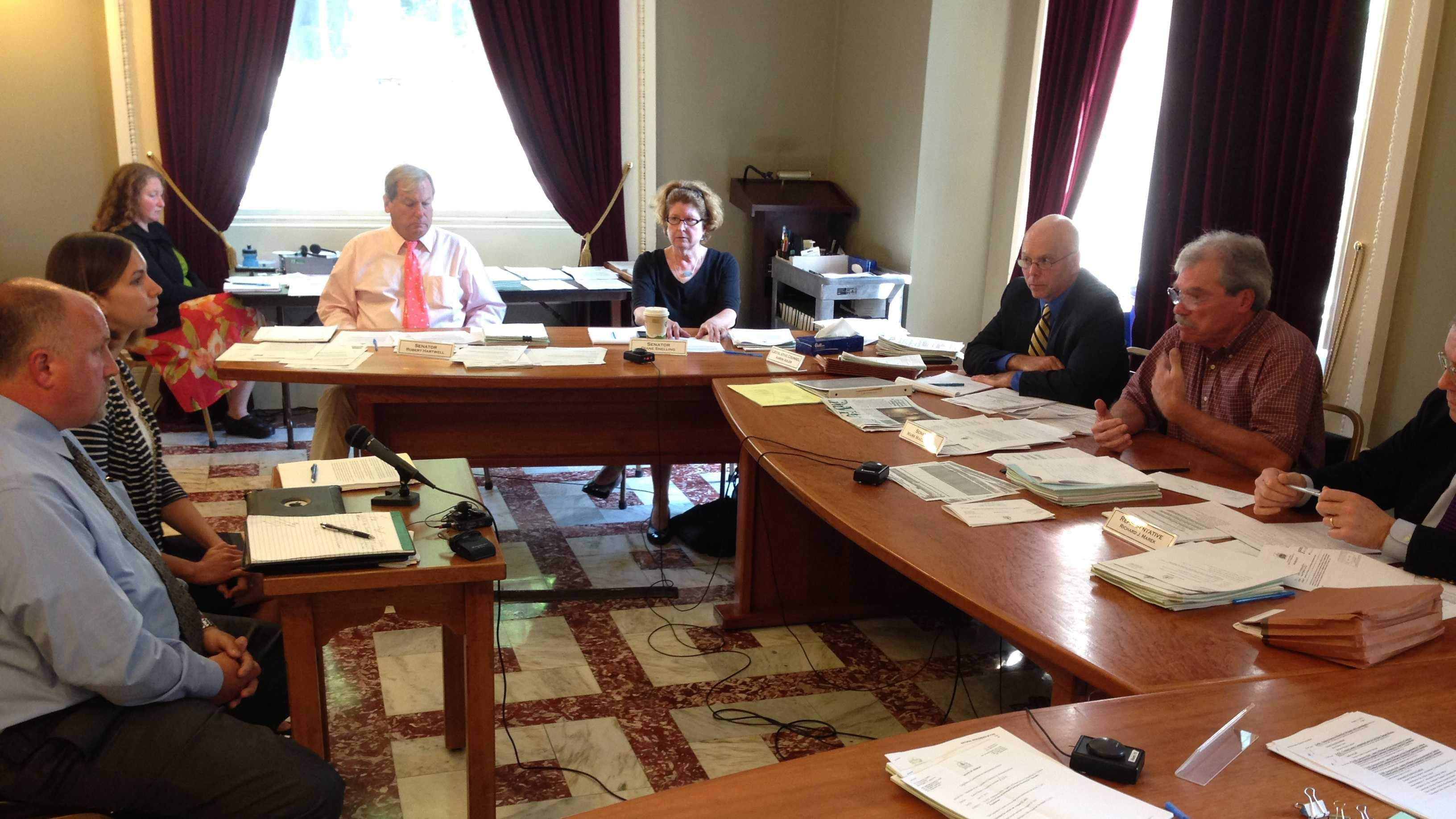 The Legislative Committee on Administrative Rules meeting Thursday at the Statehouse.