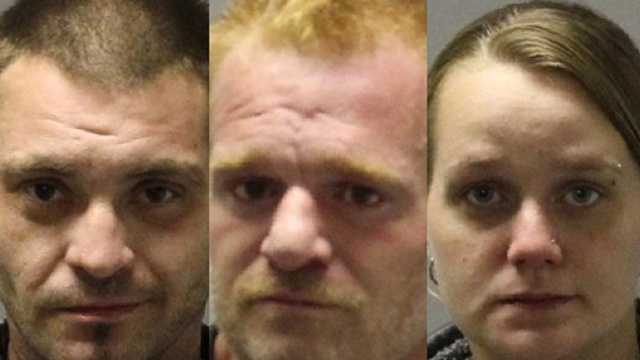 3 face meth charges after suspicious fire in Mooers