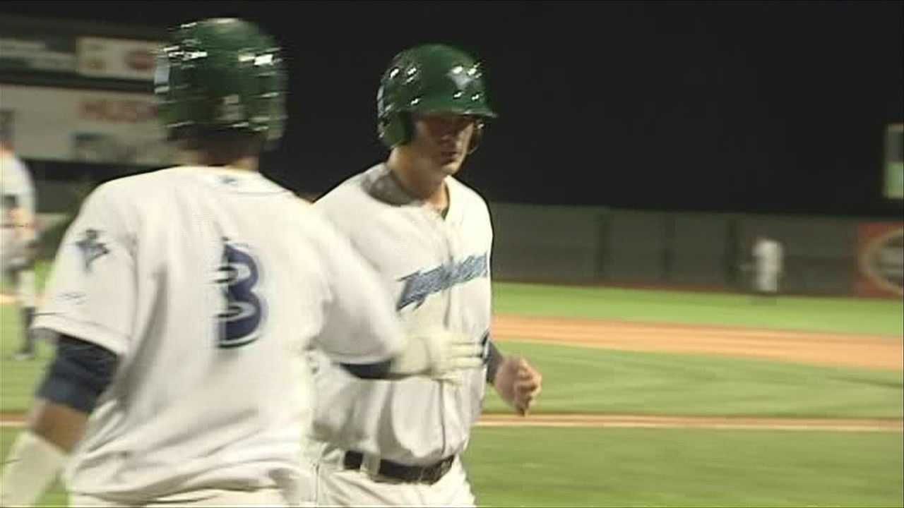 Lake Monsters drop game 1 of their, some what, double header.