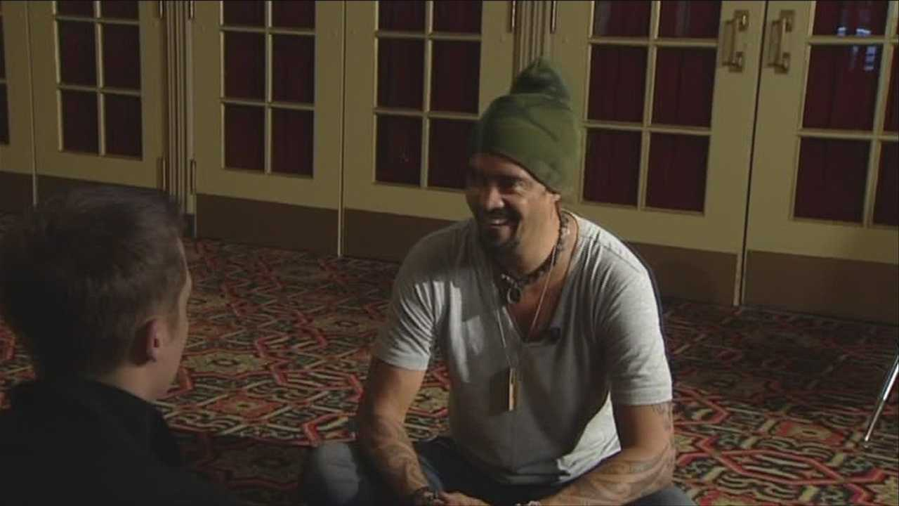 Michael Franti sits down with WPTZ NewsChannel 5