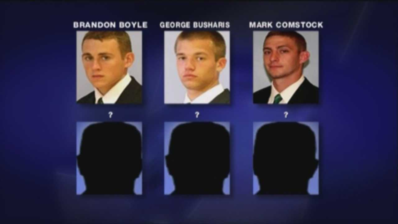 3 remain nameless in football player theft case
