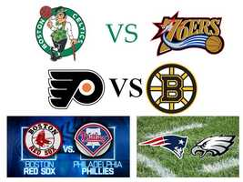 I went to college and medical school in Boston and learned to be both an avid Boston sports fan as well as still being loyal to my Philly teams!