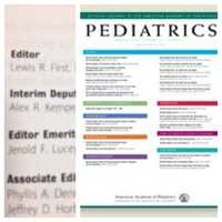 So what else do I get to do when I am not seeing patients? I have the honor of being editor-in-chief of the official journal of the American Academy of Pediatrics conveniently titled Pediatrics.