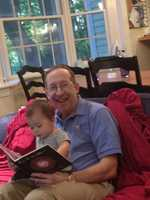 """I also love to spend time with my family. Here I am with my granddaughter Khailyn who is learning to call me """"G-daddy""""!"""