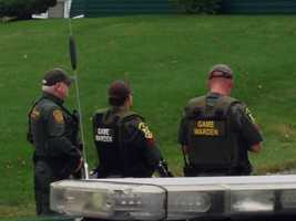 Police in northern Vermont say a suspect is in custody following a four-hour standoff in Newport.