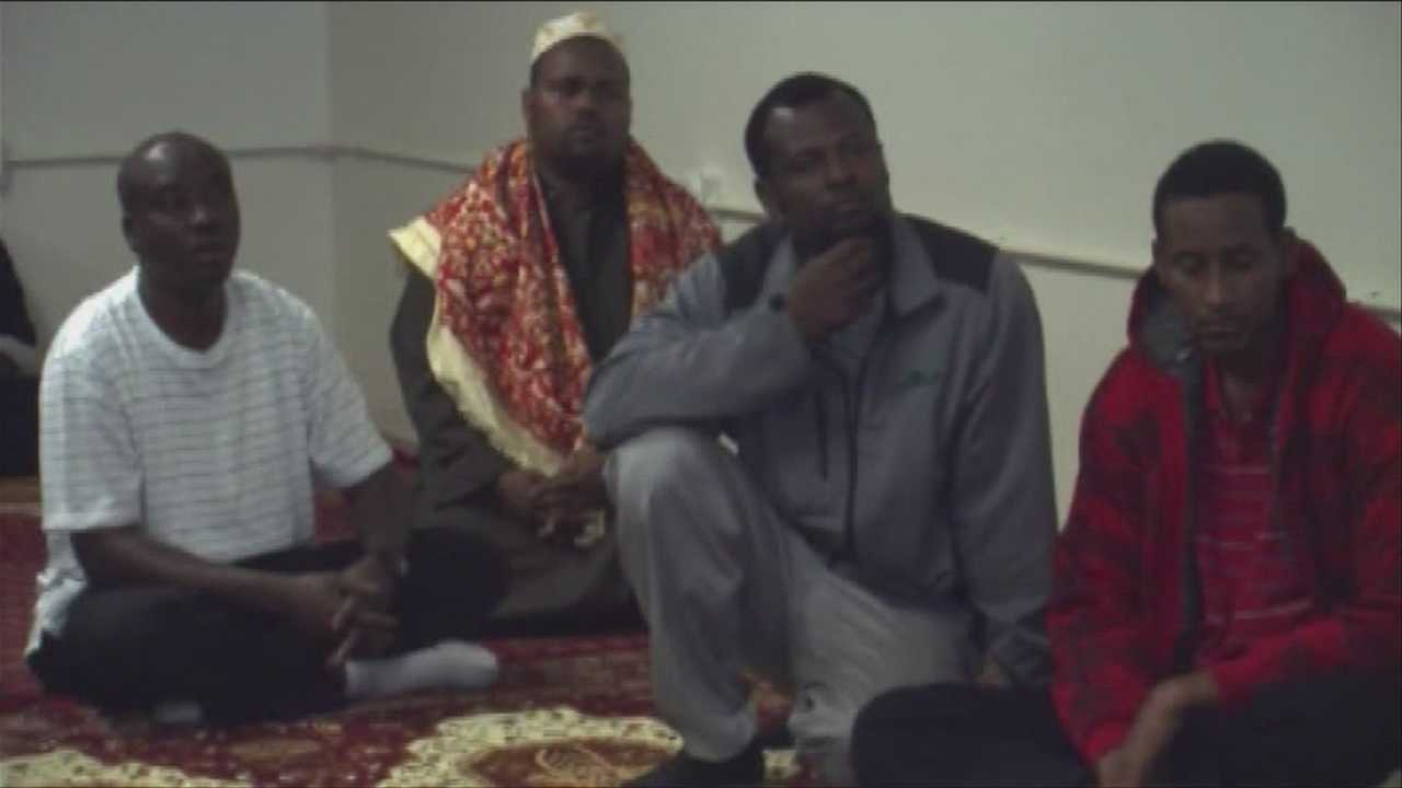 Local mosque prays for victims