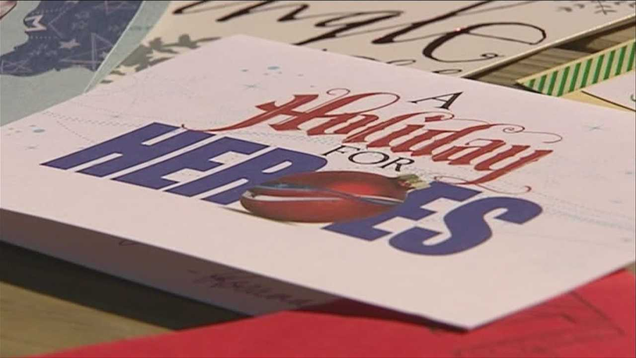 Red Cross kicks off annual Holiday Mail for Heroes