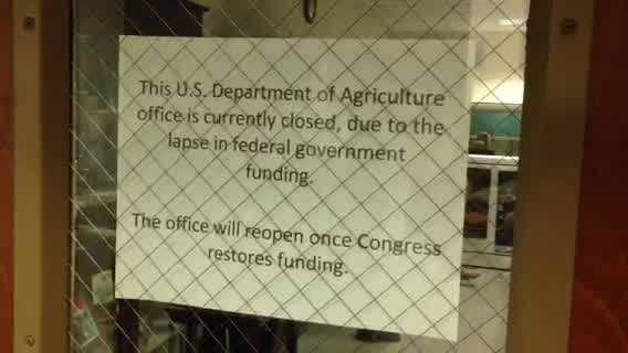 140 USDA employees not reporting for work - WHIP img