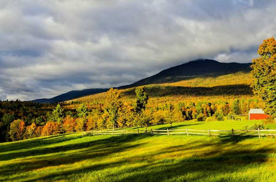 Lincoln Gap, Lincoln, Vermont by Lauren Morrill.