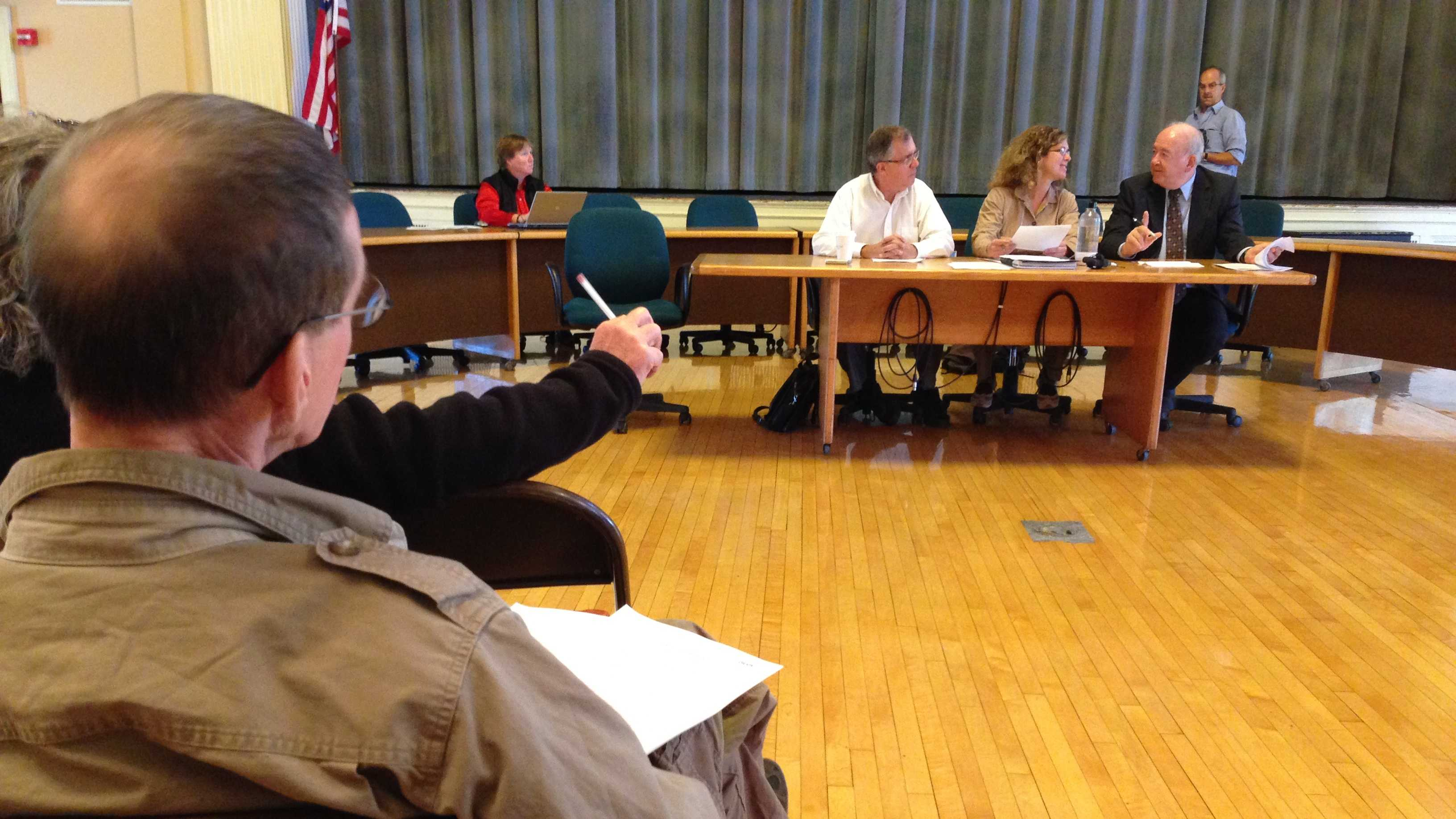 BTV ordinance committee votes for gun safety ordinance as residents look on.
