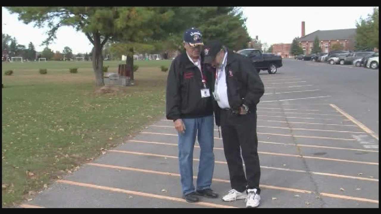 Veterans given special permission to visit memorials