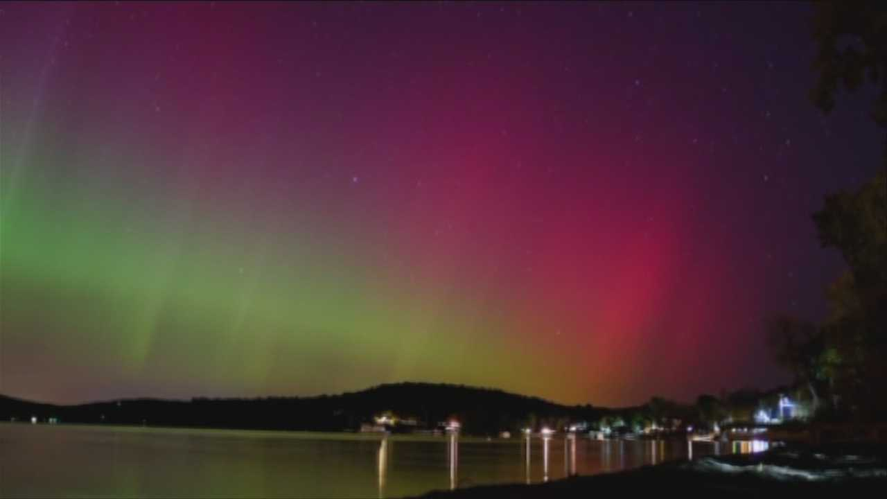 Northern Lights Tuesday October 08, 2013, Courtesy: Dan Russell and Charles Baldridge