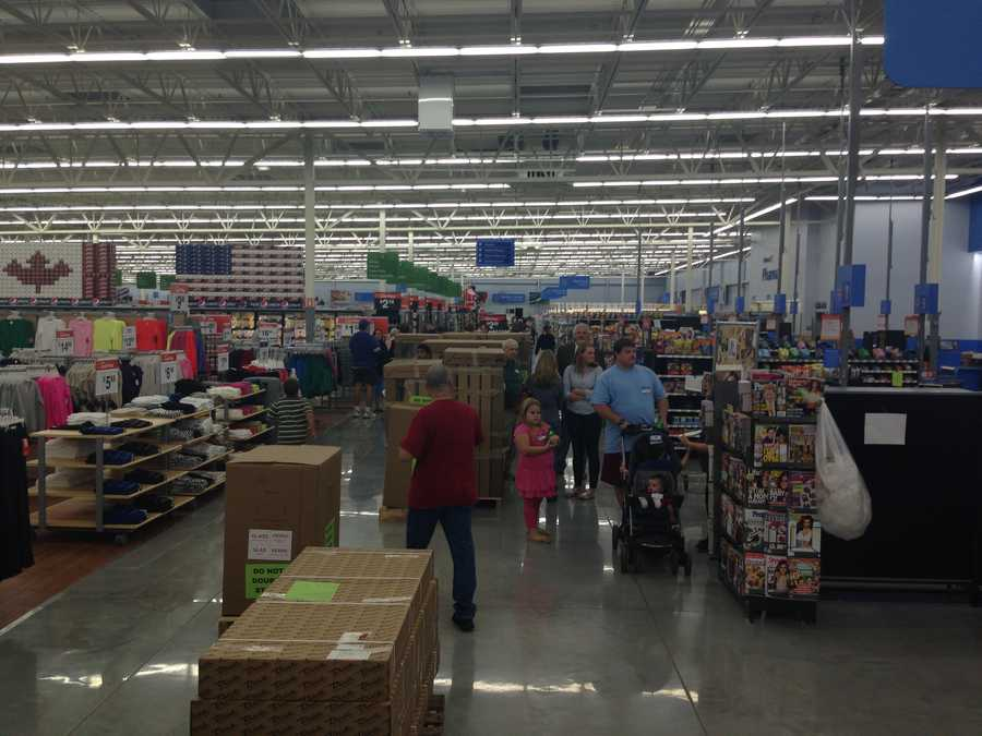 The new Walmart is 146,000 square-feet.
