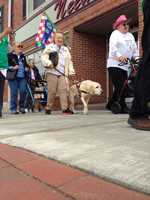 White Cane Awareness Walk in St. Albans, Vt., presented by the Vermont Association for the Blind and Visually Impaired