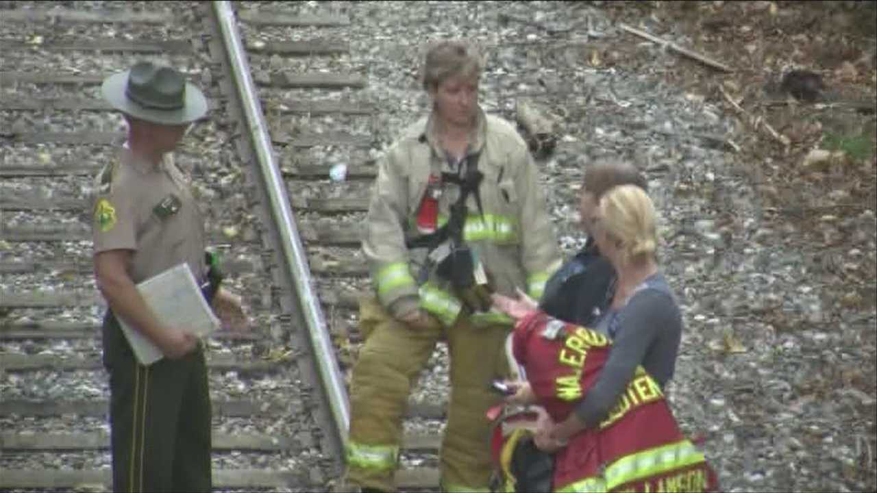 One dead after being hit by train