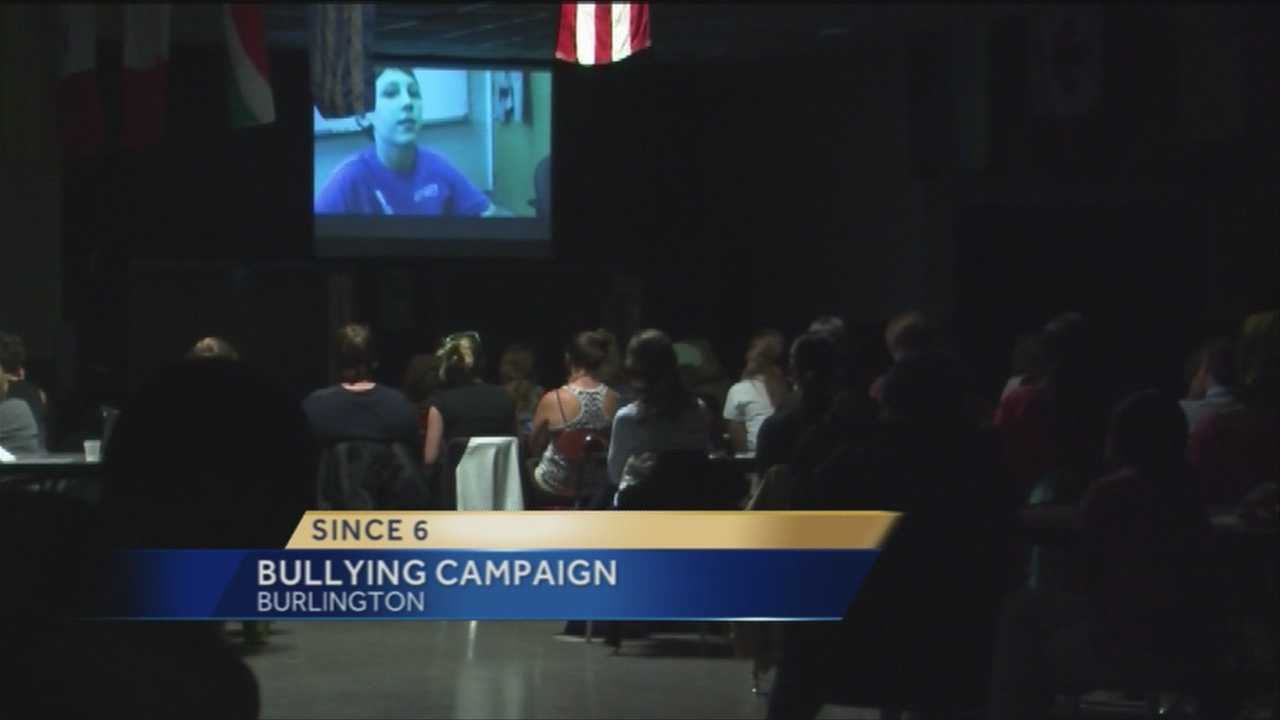 "Burlington High School presented the film ""Bully"" Tuesday night in an effort to spread the district's message on bullying and harassment."