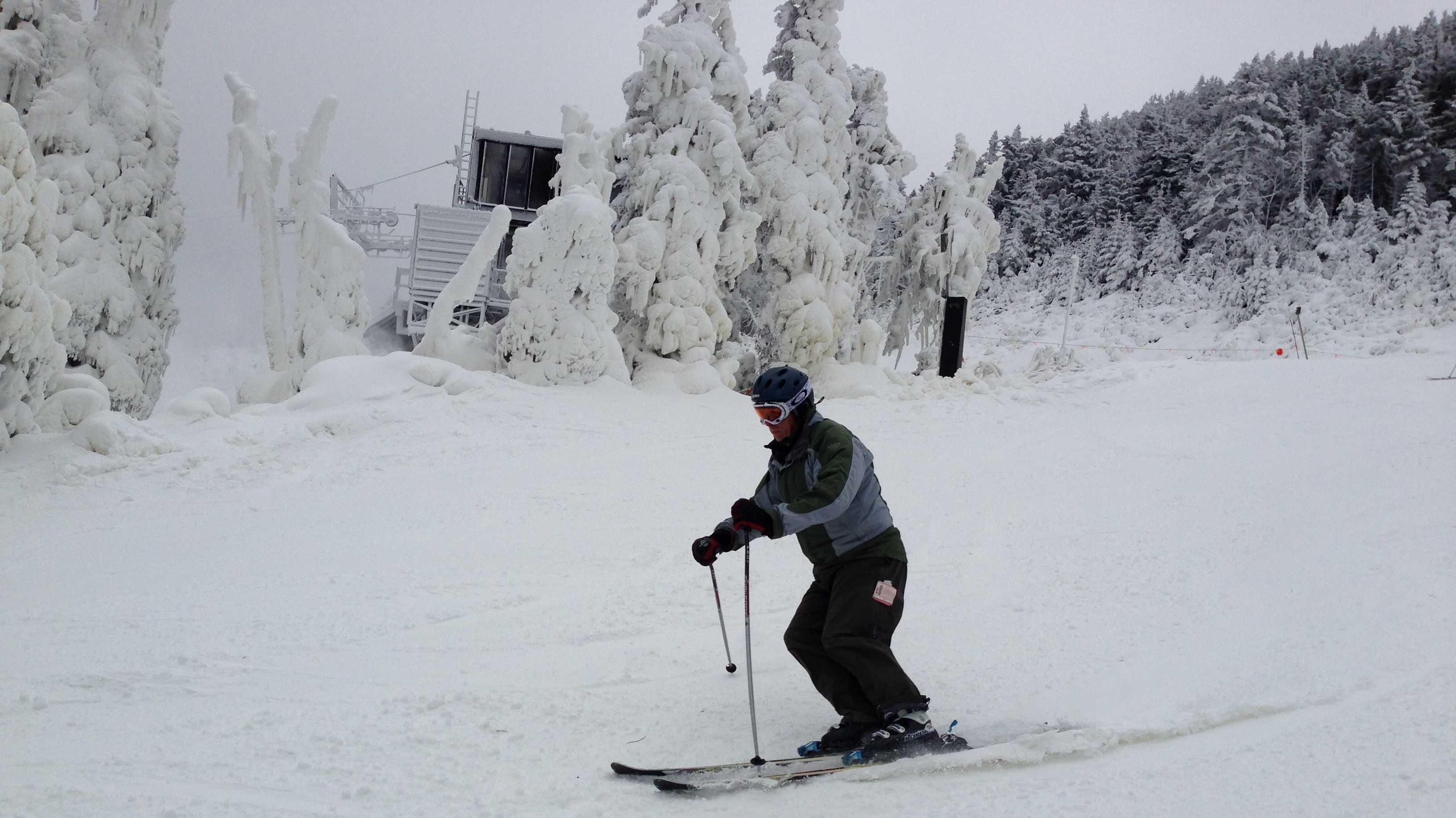 Snow covers Killington 3
