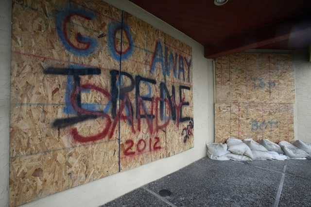 """Hurricane Sandy, unofficially known as """"Superstorm Sandy,"""" was the deadliest and most destructive hurricane of the 2012 hurricane season, and the second-costliest hurricane in United States history."""
