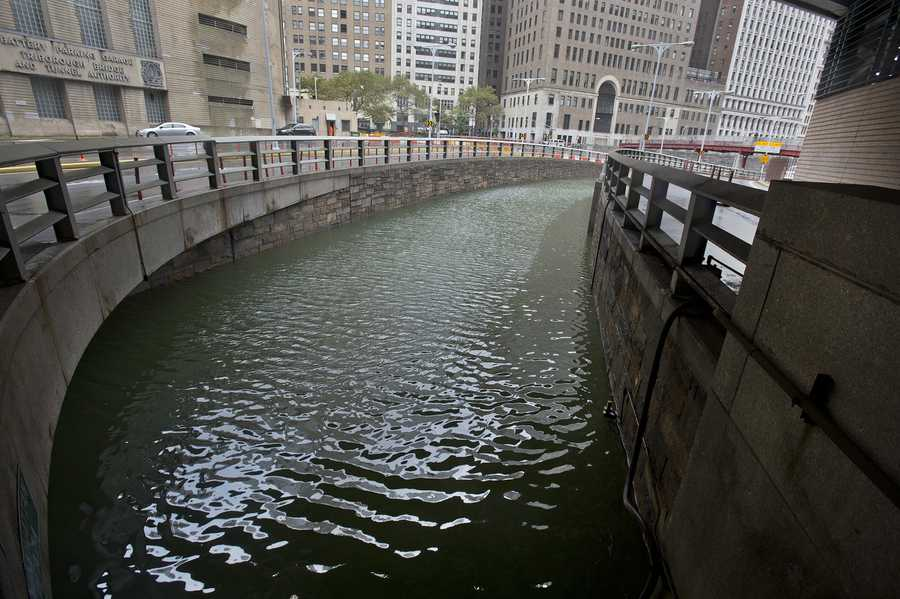 Battery Park Underpass Flooding