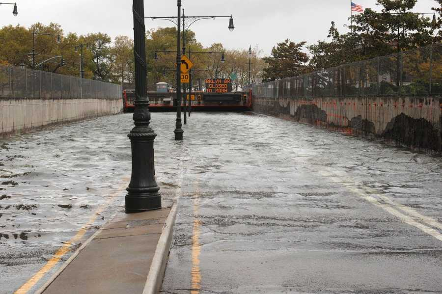 However, some of the worst damage came in the New York City area, where dozens of tunnels were flooded and communities along the Long Island and New Jersey coast were leveled.