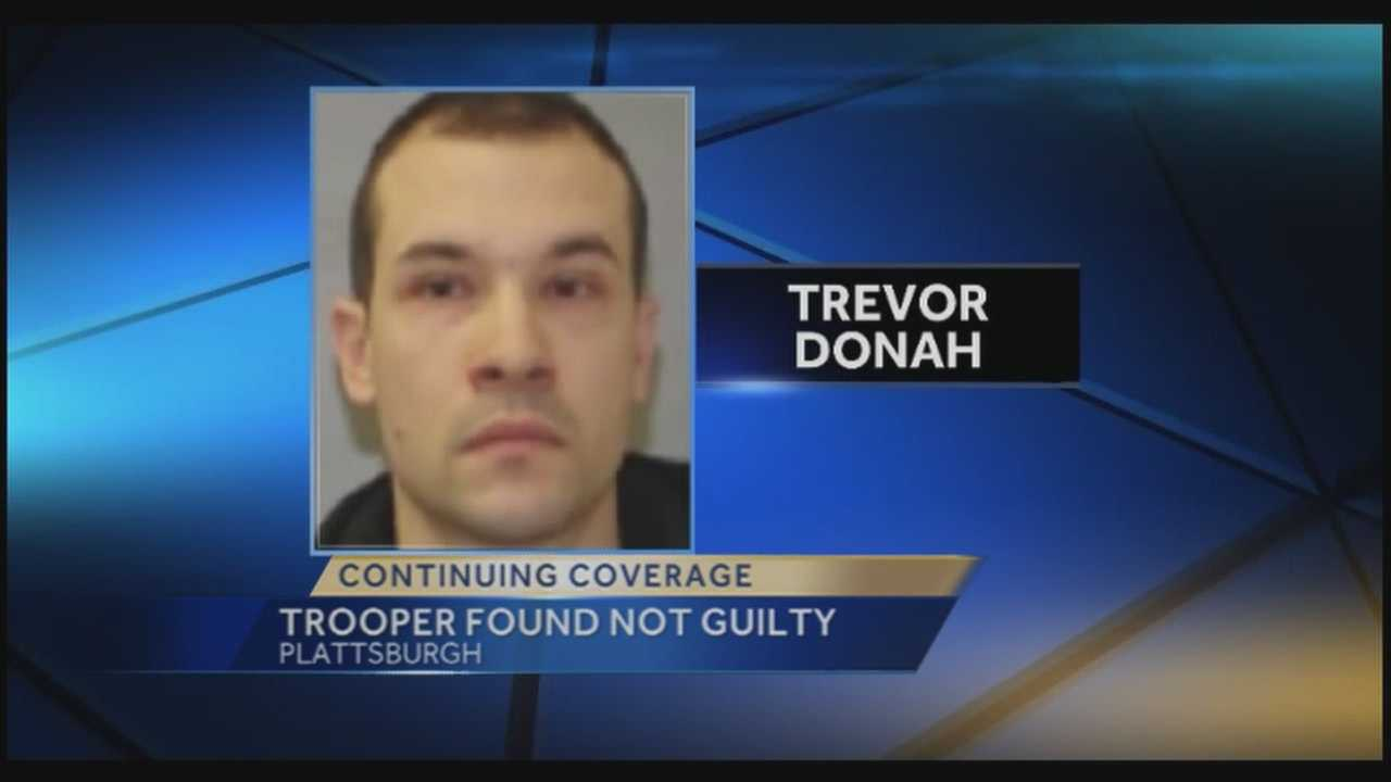 Trooper found not guilty in attempted rape case