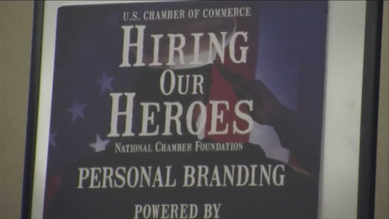 Hundreds of military service members and their spouses took part