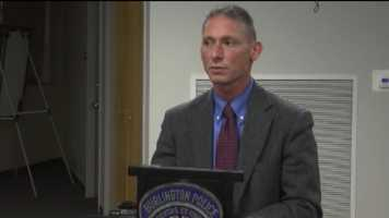 8:30 p.m.:Burlington Police Chief Michael Schirling addresses the media saying the two officers involved have been placed on administrative leave per protocol.