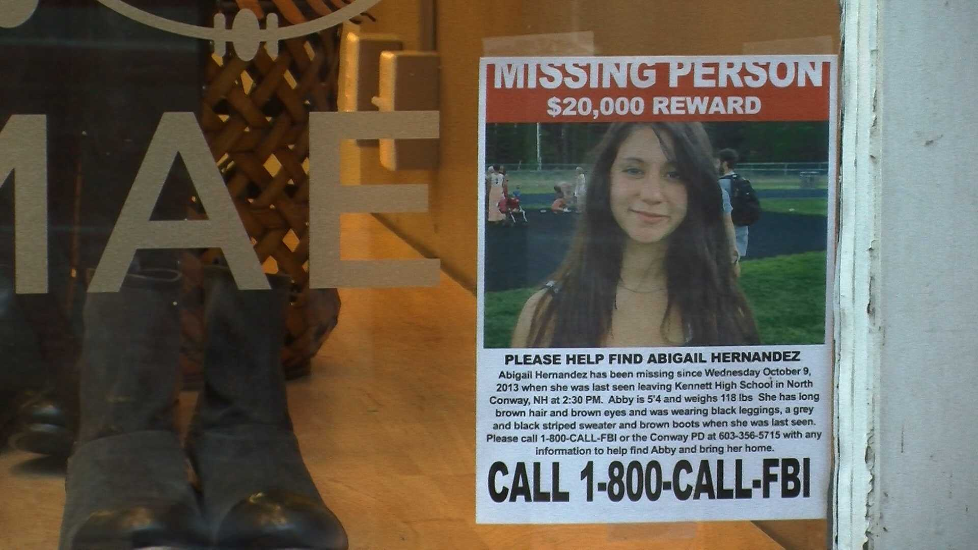 Posters go up for missing teenager - img