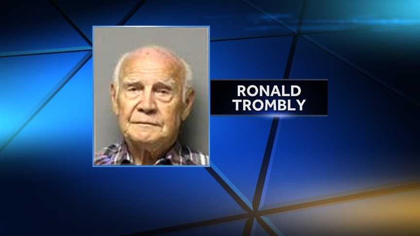 85-year-old Ronald Trombly from Mooers, NY is charged with manslaughter in the death of 27-year-old Ashley Poissant.