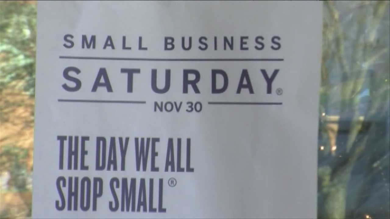 Downtown wants holiday shoppers to think small
