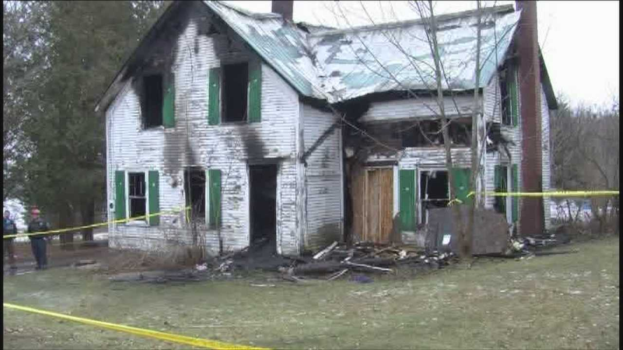 Flames engulf home, two escape, one dies