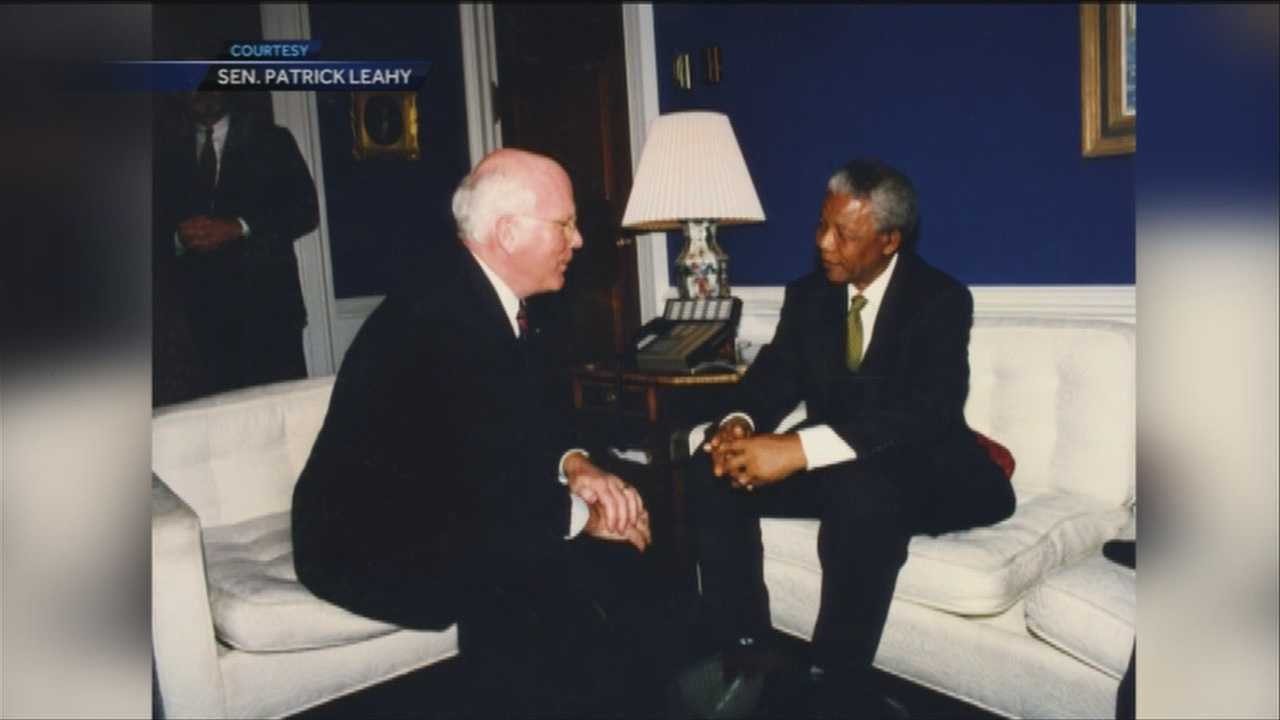 Sen. Patrick Leahy and Sen. Bernie Sanders reflect on the life of Nelson Mandela.