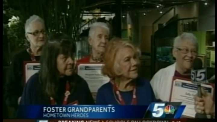 Hometown Heroes: Five JFK Elementary foster grandparents