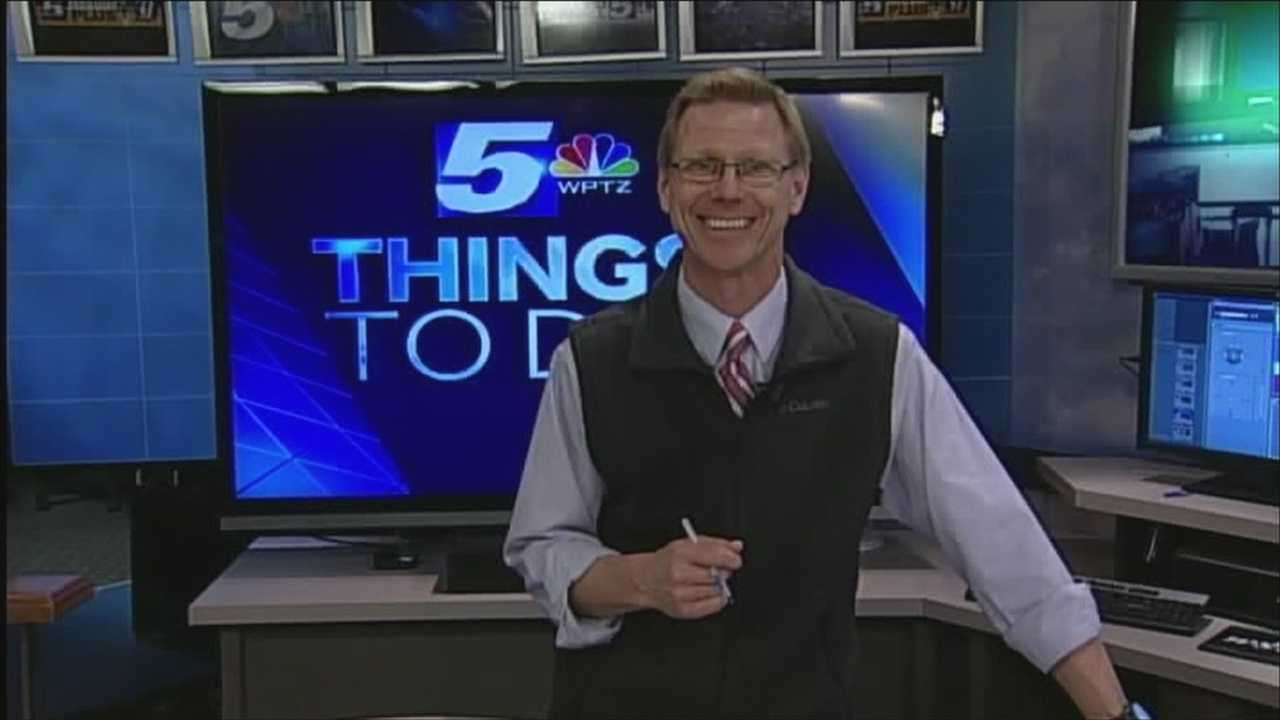 Which would you like to go do? Santa ski day or a Holiday ice show? You've got options. Tom Messner has your things to do today.