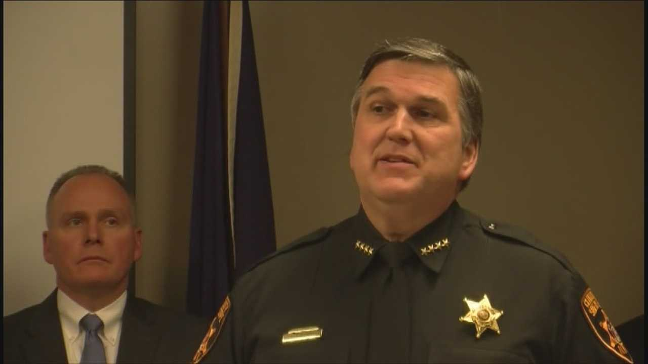 Sheriff speaks out after sweep