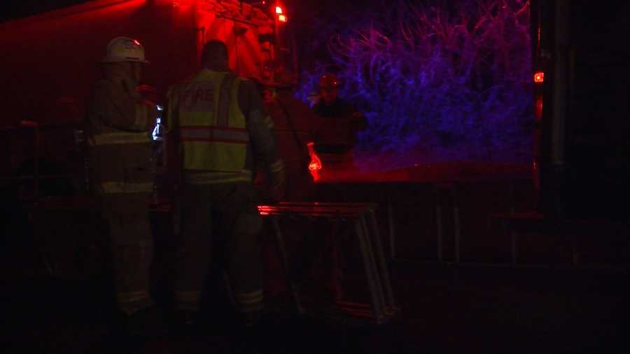 Fire crews across Chittenden County battled a blaze at a house on Old Stage Road in Essex.