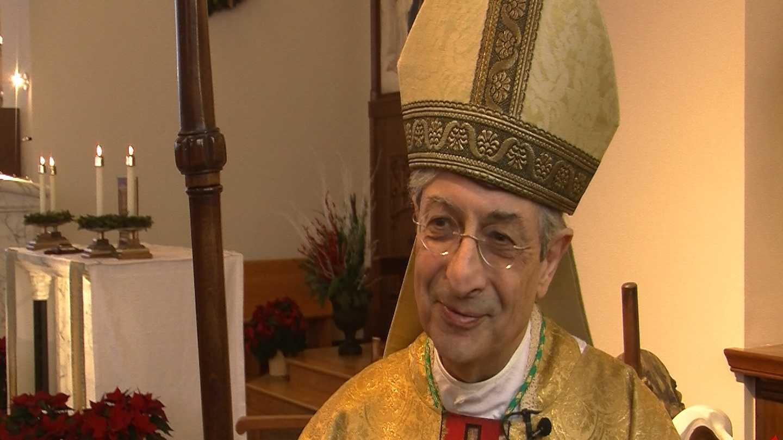 Church leader says goodbye