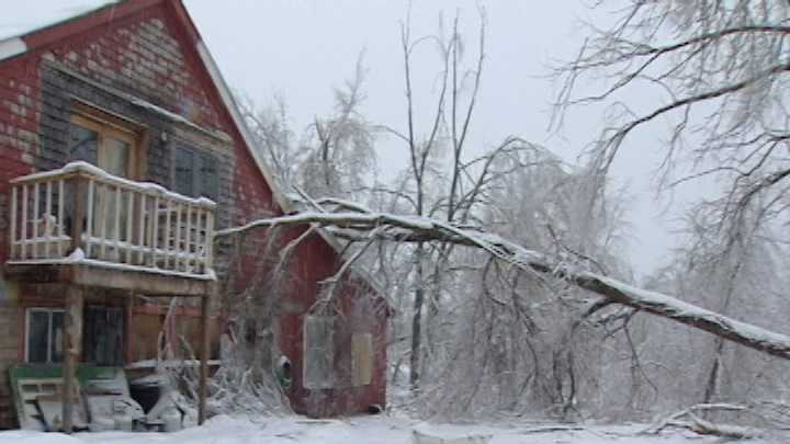 Problems from the nearly week-old ice storm are lingering in all corners of Franklin County.