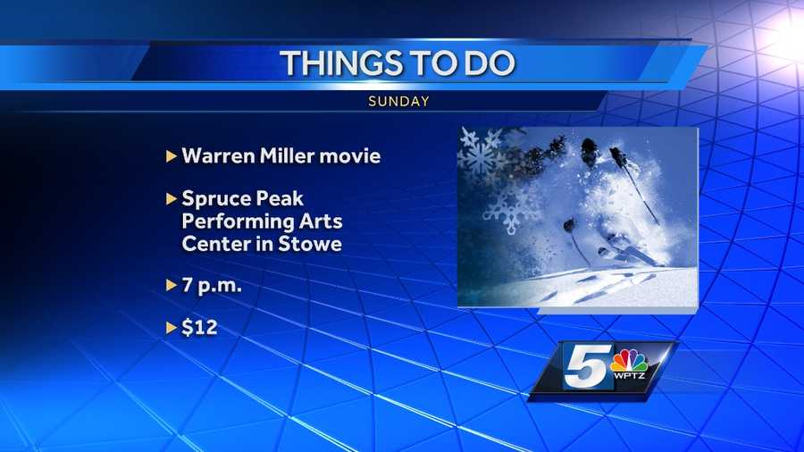 """Another classic film by Warren Miller can be seen at the Spruce Peak Performing Arts Center in Stowe. The film is """"Ticket to Ride"""" and it fires up at 7 p.m. Tickets are $12."""