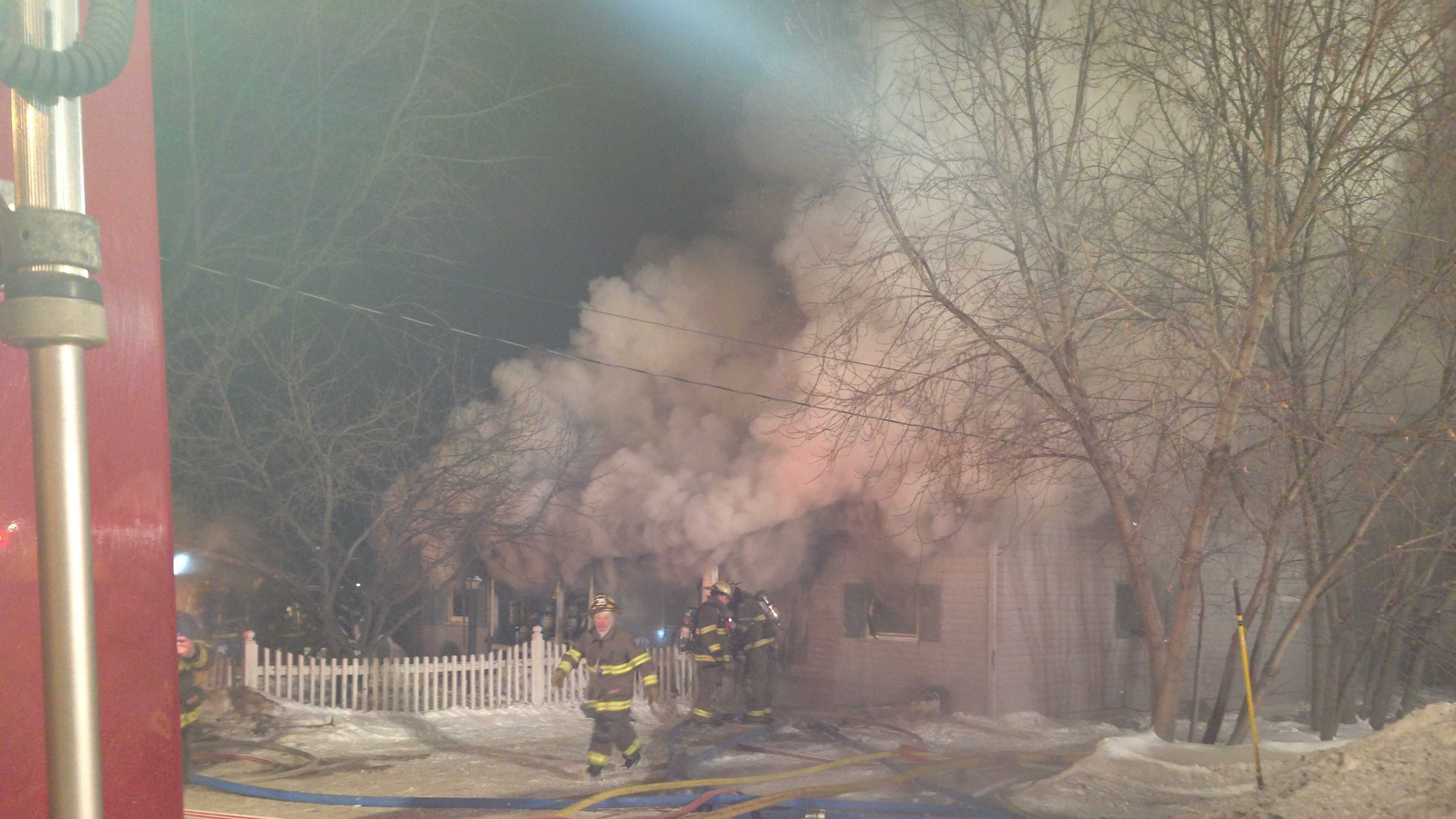 Fire affects home on Stafford Road in kP