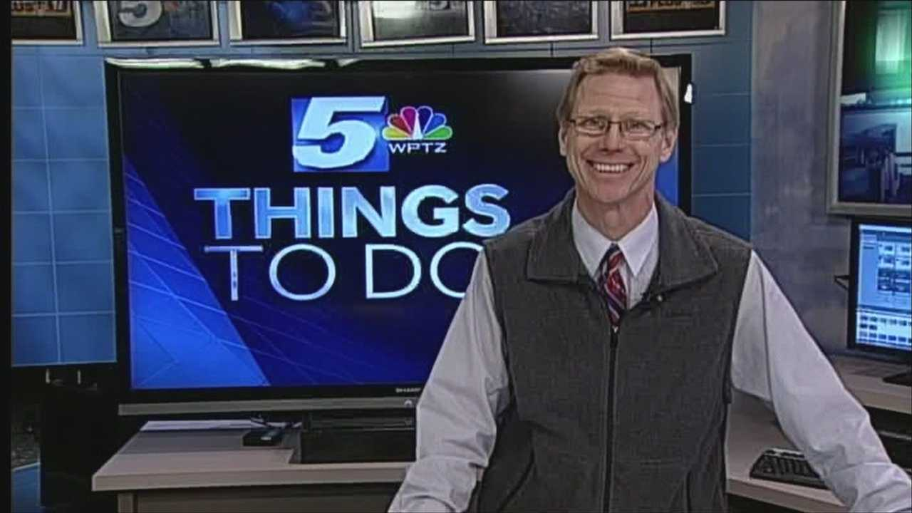 Tom Messner has your things to do on this chilly Sunday.